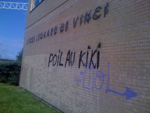 Retrait de Graffitis (2)